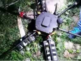 जम्मू-कश्मीर में ड्रोन